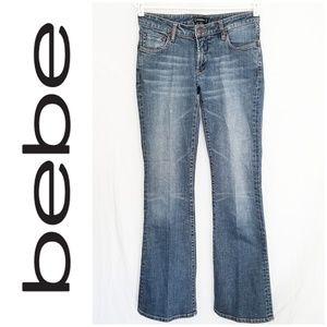 Bebe Medium Wash Bootcut Jeans